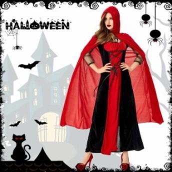 魔女 悪魔 デビル 魔法使い シャーマン 女王 吸血鬼 ヴァンパイア バンパイア セクシー S-XL ハロウィン コスプレ衣装(ps3854)