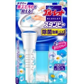 小林製薬 ブルーレット スタンピー 除菌効果プラス フレッシュコットンの香り 本体 約30日分 1個