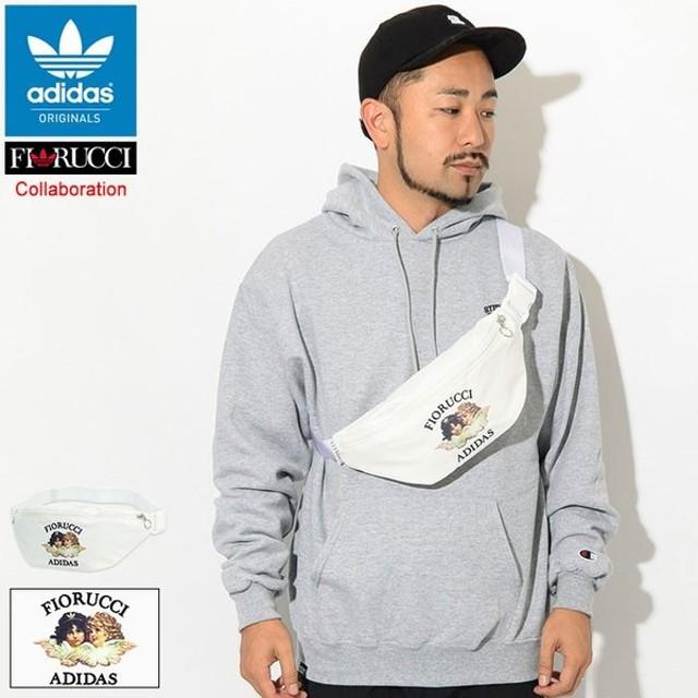 アディダス ウエストバッグ adidas フィオルッチ コラボ オリジナルス(FIORUCCI Waist Bag Originals ウエストポーチ ヒップバッグ ED5893)