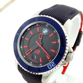 アイスウォッチ ICE WATCH メンズ・レディース腕時計 BMW Motorsport Steel BMWコラボモデル 43mm ダークブルー&レッド BM.BRD.U.L.14