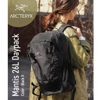 ARC'TERYX [アークテリクス] / Mantis 26L Daypack -Black II- (アークテリクス バックパック ディパック リュック バッグ カバン)L06901500