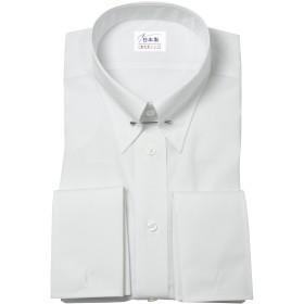 軽井沢シャツ メンズ 長袖ビジネスシャツ (形態安定シャツ) ピンホールカラー ピンホールカラー バック-サイドタック フォーマル形態安定 [A10KZZP01] スリム型