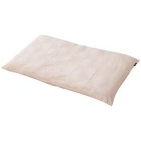 [最終SALE] 7%OFF 送料無料 あったか長座布団カバー Sサイズ アイボリー 冬 冬用 洗える 吸湿発熱 ごろ寝 お昼寝 エムールヒート