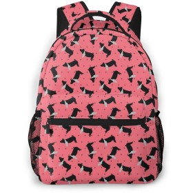 バックパック リュックサック 白黒豚 ピンク ビジネス カジュアル リュック 軽量 超大容量 多機能 衝撃吸収 おしゃれ 通勤 通学 旅行 登山 出張 メンズ レディース