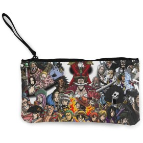 ワンピース One Piece NUBOMINI 小銭入れ 化粧品収納 財布 可愛いポーチ アクセサリー収納袋 大容量 ポーチ