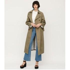 【SLY:アウター】LOOSE LONG TRENCH COAT