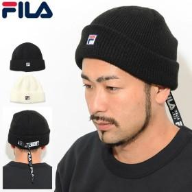 フィラ ニット帽 FILA ロング ベルト ニット ウォッチ キャップ(Long Belt Knit Watch Cap 帽子 ニットキャップ ビーニー 198-113803)
