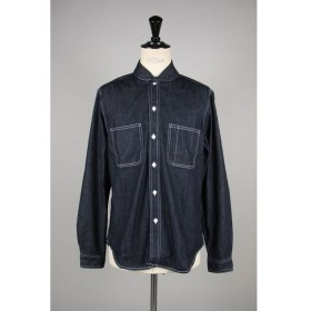 8oz DENIM SHAWL COLLAR SHIRTS (TSJS-91604-25) The Stylist Japan(ザ・スタイリスト・ジャパン)