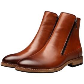 メンズ ライダーブーツ エンジニアブーツ メンズ 25.5cm 紳士靴 革靴 ミリタリー インヒール カジュアルシューズ 履きやすい バイク用 ロングブーツ バイカーズブーツ ウエスタンブーツ 歩きやすい 疲れない