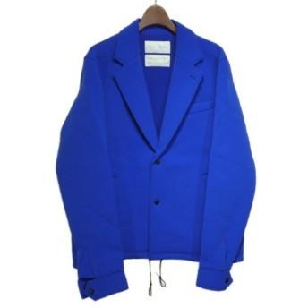 FUMITO GANRYU 2019SS「WATER RESISTANT LAPELED COACH JACKET」ジャケット ブルー サイズ:2 (