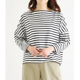 Traditional Weather Wear / トラディショナルウェザーウェア : BIG MARINE BOATNECK SHIRT:ビッグマリン ボートネック: L191HJPO0011KS