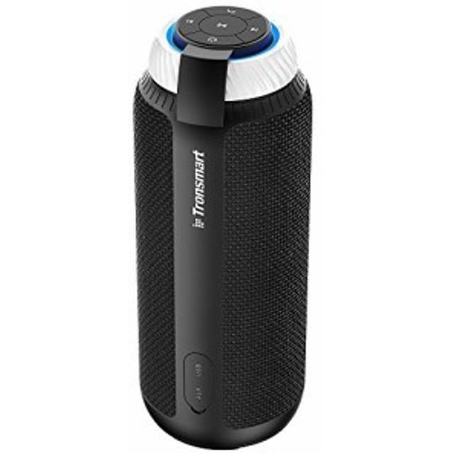 [CENTE]Tronsmart T6 Bluetooth スピーカー 高音質 25W出力 360°全方位サウンド 低音強化 15時間連続再生 内蔵マイク搭載 ポータブル