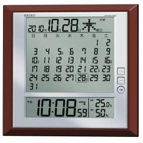 セイコー  掛置兼用電波時計SQ421B