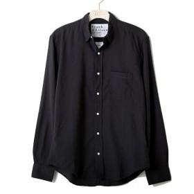 Frank & Eileen / フランクアンドアイリーン : LUKE COTTON-BLACK - : ルークコットンシャツ ブラック メンズ : 2820700050