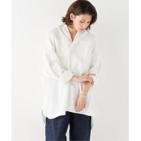 BONUM ARTE POVERA ベッチュウデニムワイドシャツ ホワイト フリー