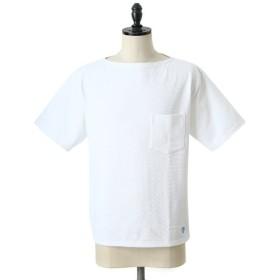ORCIVAL / オーシバル : Cotton Lourd Pocket T / 全4色 : オーチバル オーシバル ボーダー カットソー 半袖 ティーシャツ : RC-9038
