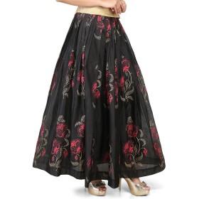 Utsav Fashion SKIRT レディース US サイズ: 54 カラー: ブラック