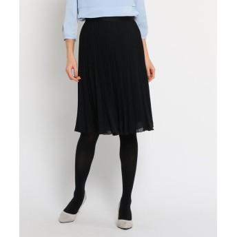 COUP DE CHANCE(クードシャンス) ◆グラデーションプリーツスカート
