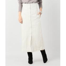 VERMEIL par iena 【LEMAILE/ルメール】HIGH WAISTED スカート ホワイト 8