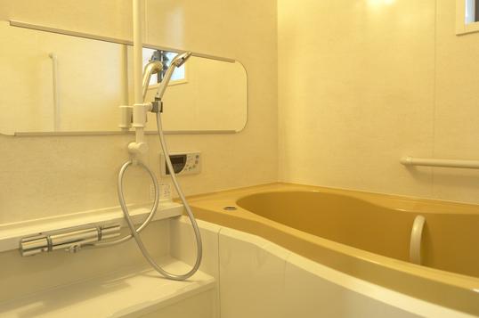 シャワーと湯船