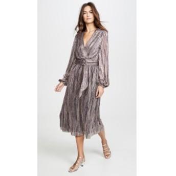 レベッカ ヴァランス Rebecca Vallance レディース ワンピース ワンピース・ドレス Bellagio Dress Pink Metallic Stripe