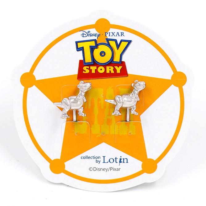 【迪士尼正版授權-玩具總動員】恐慌症抱抱龍夾式耳環