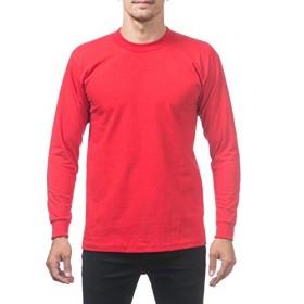 PRO CLUB(プロクラブ) 長袖Tシャツ ヘビーウェイト 114 レッド XL