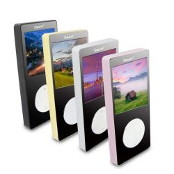 【B1862】Smart晶瑩款 彩色螢幕MP4隨身聽(內建8GB記憶體)(送5大好禮)