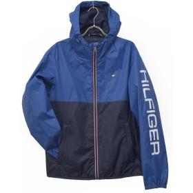 トミーヒルフィガー(Tommy Hilfiger) ナイロン ジャケット メンズ ウインドブレーカー アウター ジップ トミー tmb-158an416 (M, BLUE)