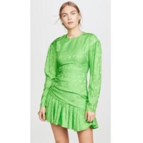 レ レヴェリズ LES REVERIES レディース ワンピース ワンピース・ドレス Ruched Fairy Dress Rose Jade