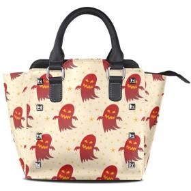Red Sugar Ghost クロスボディバッグレザーハンドバッグサッチェル財布メイクアップトートバッグ女性用女の子