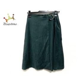 マルティニーク martinique スカート サイズ2 M レディース グリーン  値下げ 20191129