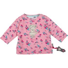 Sigikid Girls 'Langarmshirt、ベビーロングスリーブT-シャツ、ピンク(Icing 693)、6-9か月