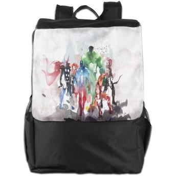 ファッションバックパック アベンジャーズリーグ デイリーリュック 軽量 個性 大容量 多機能 トラベルバッグ
