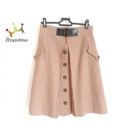 ラウラ Laula スカート サイズ1 S レディース ブラウン×ダークブラウン   スペシャル特価 20200105