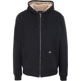 《セール開催中》DICKIES メンズ スウェットシャツ ブラック XS コットン 55% / ポリエステル 45% FRENCHBURG