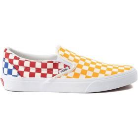 [バンズ] 靴・シューズ スニーカー Slip On Color-Block Checkerboard Skate Shoe マルチ US Men's 7.5, Women's 9 (M 25.5, W 26) [並行輸入品]