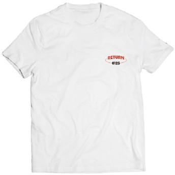 【YG公式】[RETURN] iKON T-SHIRTS_RETURN WHITE_L リターンTシャツ BOBBY ジナン ジュネ ユニョン ドンヒョク チャヌ アイコングッズ iKONグッズ iKON Tシャツ(ホワイト・Lサイズ)