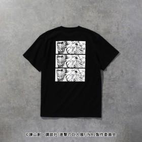 SALE【ラブレス(LOVELESS)】 【LOVELESS×進撃の巨人】エレン・イェーガー コラボ Tシャツ ブラック