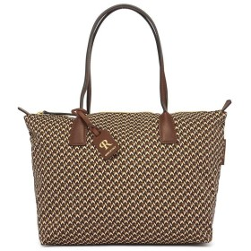 [ロベルタピエリ] ROBERTA PIERI トートバッグ TATAMI LARGE TOTE RPRB LTTLBB BRITISH BROWN [並行輸入品]