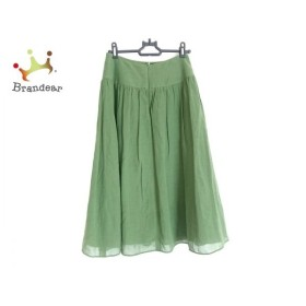 シビラ Sybilla スカート サイズM レディース 美品 グリーン 新着 20190922