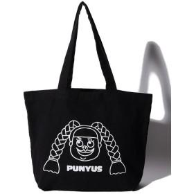 プニュズ カラートートバッグ レディース ブラック F 【PUNYUS】