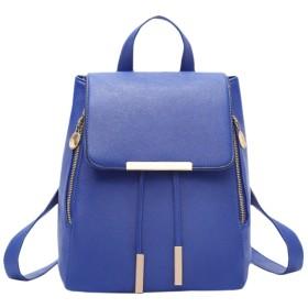 [ルナー ベリー]リュック バッグ おしゃれ かわいい 巾着型 小さめリュック レディース 4402 (ブルー) レザー 女の子 バックパック デイパック ショルダーバッグ 女子 シンプル 手提げ 4402 (ブルー)
