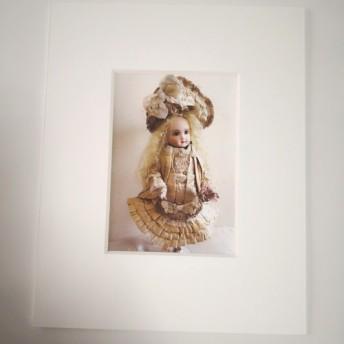 マット付額絵 ビスクドール チュイエ AT (リプロ)》 東あゆみ作 人形 ドール
