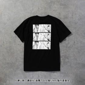 SALE【ラブレス(LOVELESS)】 【LOVELESS×進撃の巨人】リヴァイ コラボ Tシャツ ブラック