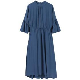 [アーバンリサーチ] ワンピース ドレス LA MAISON フレア袖ワンピース レディース ブルー one