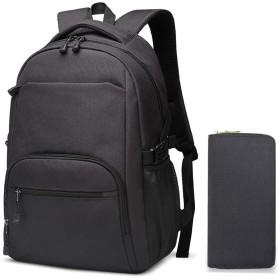 バックパック、男性と女性のカジュアルなビジネスバッグ、コンピューターバッグ、中学生のバッグ、大容量のトラベルバッグ (#-002)