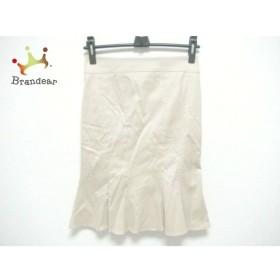 マテリア MATERIA スカート サイズ38 M レディース ベージュ   スペシャル特価 20200106