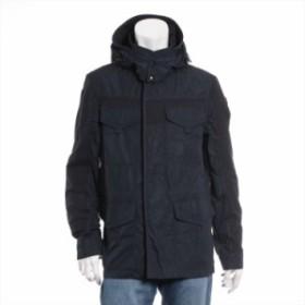 モンクレール ポリエステル ジャケット サイズ:3 レディース ネイビー