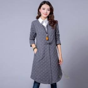 レディース アウター コート 秋 大きなサイズ 長袖